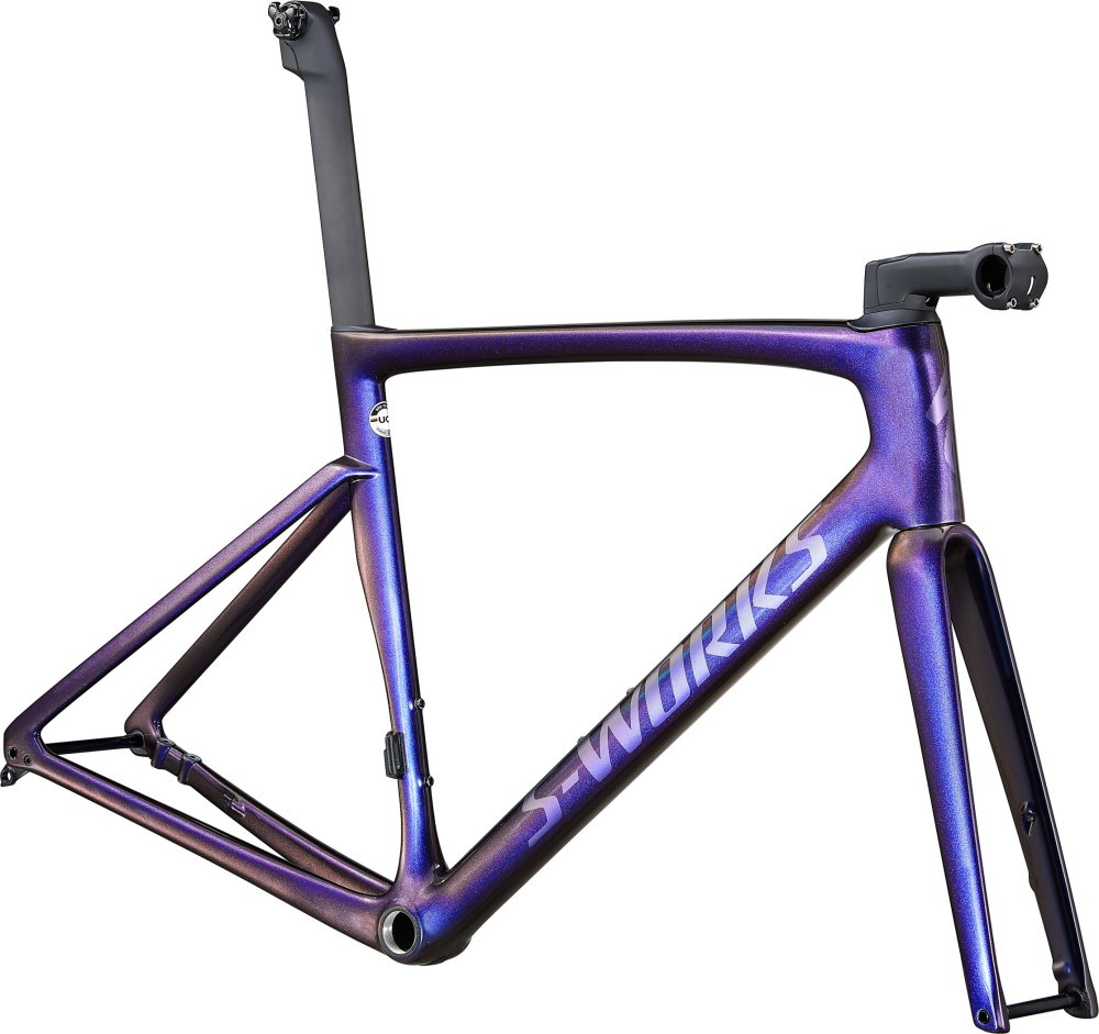Specialized S-Works Tarmac SL7 Frameset Dusty Blue Pearl/Cast Blue Metallic 61