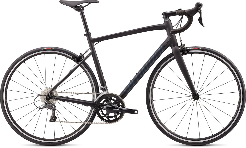 Specialized Allez Satin Black/Cast Battleship Clean 61