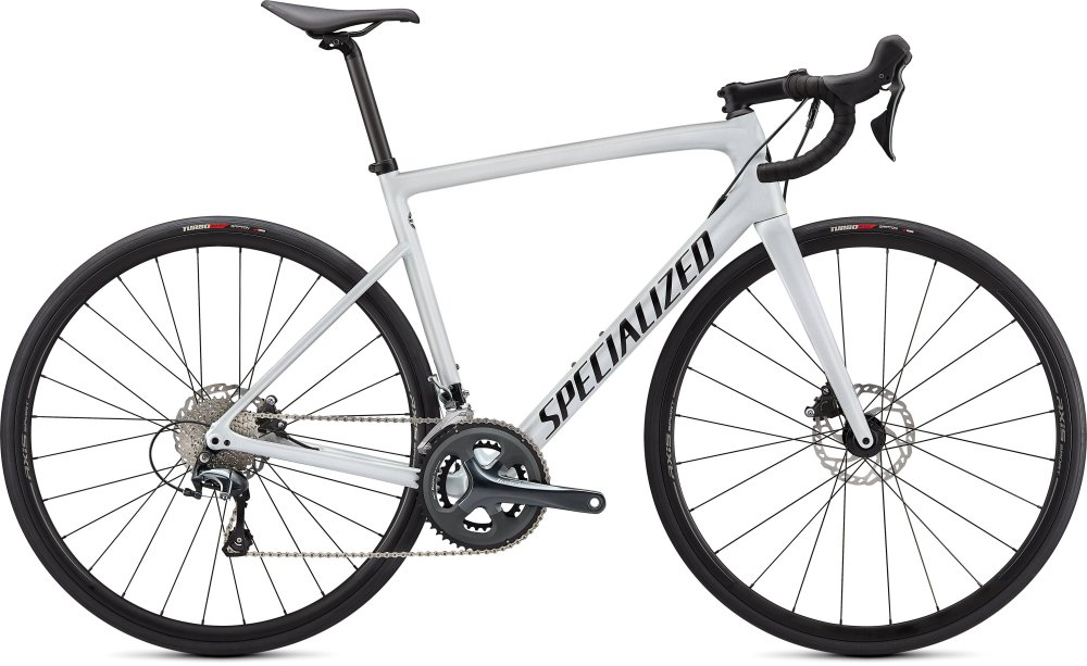 Specialized Tarmac SL6 Metallic White Silver/Tarmac Black 44