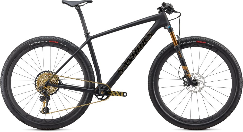 Specialized S-Works Epic Hardtail Ultralight Satin Ultralight Black/Gold Foil M