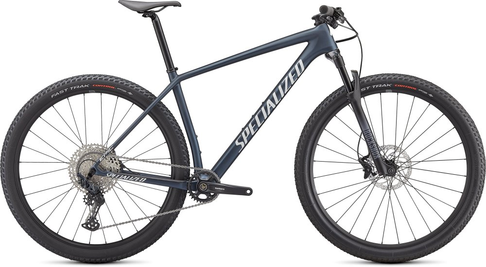 Specialized Epic Hardtail SATIN CAST BLUE METALLIC/ICE YELLOW S