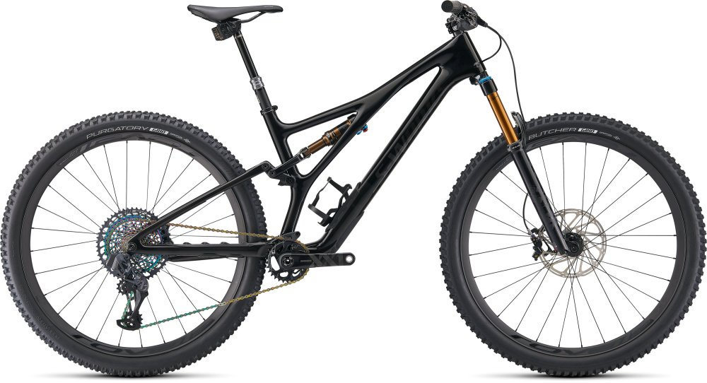 Specialized S-Works Stumpjumper GLOSS BLACK / CARBON S5