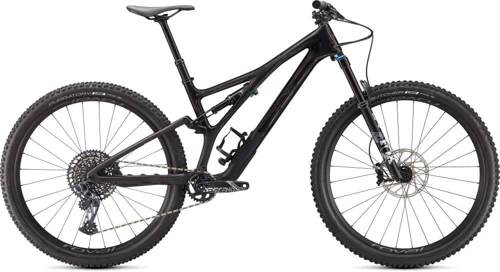 Specialized Stumpjumper Expert GLOSS SATIN CARBON / SMOKE S4