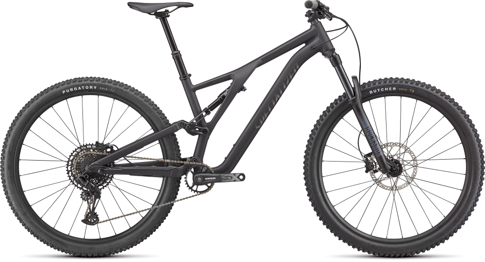 Specialized Stumpjumper Alloy SATIN BLACK / SMOKE S4
