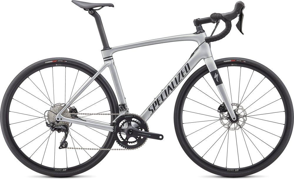 Specialized Roubaix Sport Satin Flake Silver/Black 61