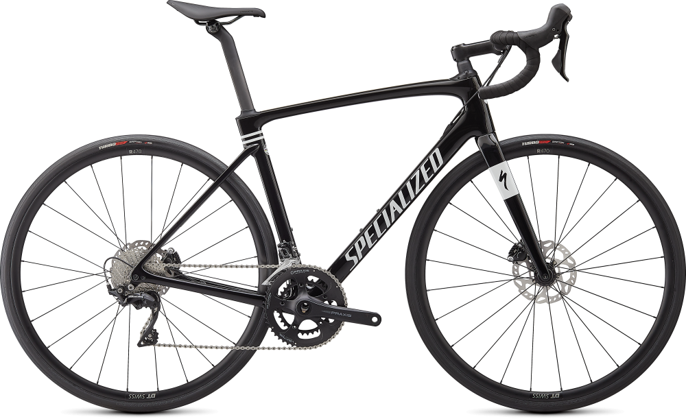 Specialized Roubaix Sport Gloss Tarmac Black/Metallic White Silver  61
