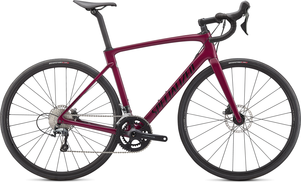Specialized Roubaix Gloss Raspberry/Tarmac Black  44