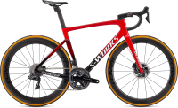 Specialized S-Works Tarmac SL7 - Dura Ace Di2 Flo Red/Red Tint/Tarmac Black/White 52