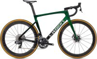 Specialized S-Works Tarmac SL7 - SRAM Red eTap AXS Green Tint Fade over Spectraflair/Chrome 44
