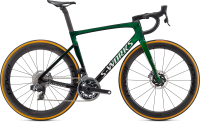 Specialized S-Works Tarmac SL7 - SRAM Red eTap AXS Green Tint Fade over Spectraflair/Chrome 58