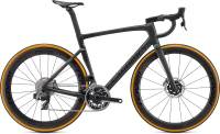 Specialized S-Works Tarmac SL7 - SRAM Red eTap AXS Carbon/Color Run Silver Green 44