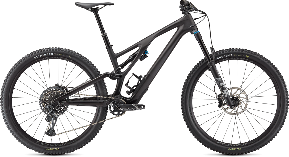Specialized Stumpjumper EVO Expert SATIN GLOSS CARBON / SMOKE S1