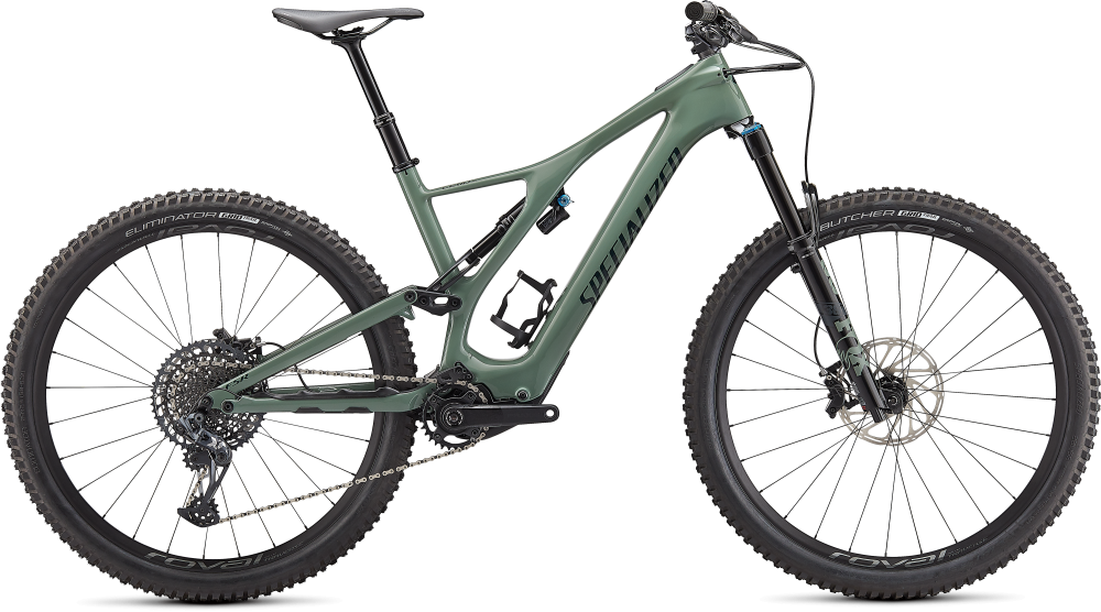 Specialized Turbo Levo SL Expert Carbon Gloss Sage / Forest Green S