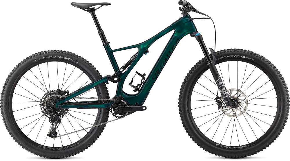 Specialized Turbo Levo SL Comp Carbon Green Tint / Black XL