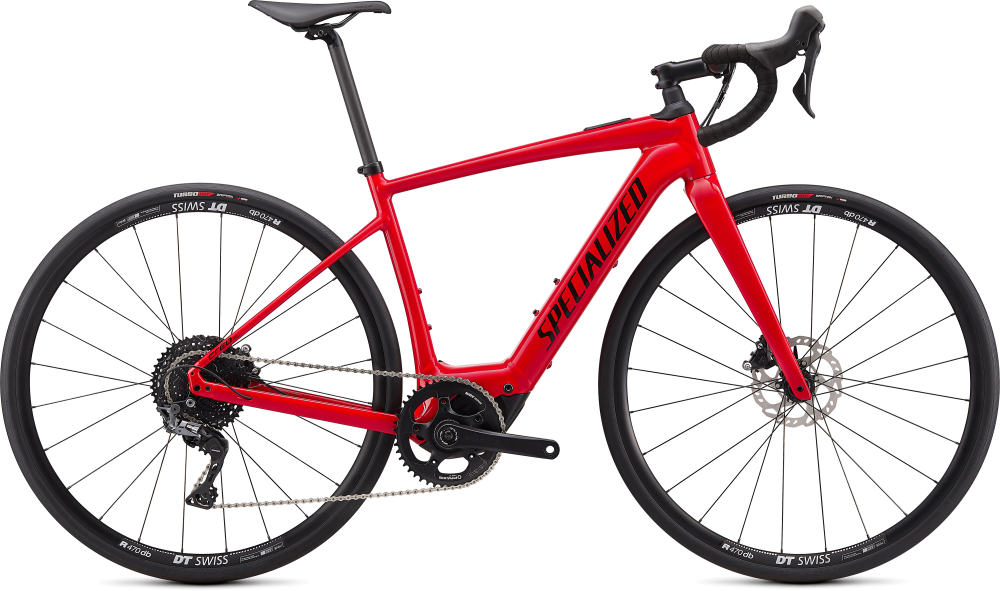 Specialized Turbo Creo SL Comp E5 Gloss Flo Red/Black XL